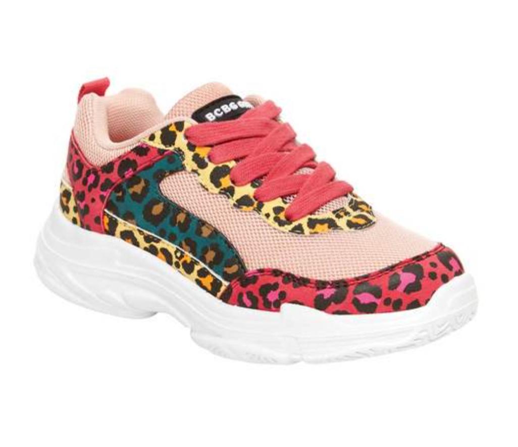 BCBG Girls Leslie Cheetah Chunky Throwback Athletic Sneaker $20 + Free shipping w/ $35+