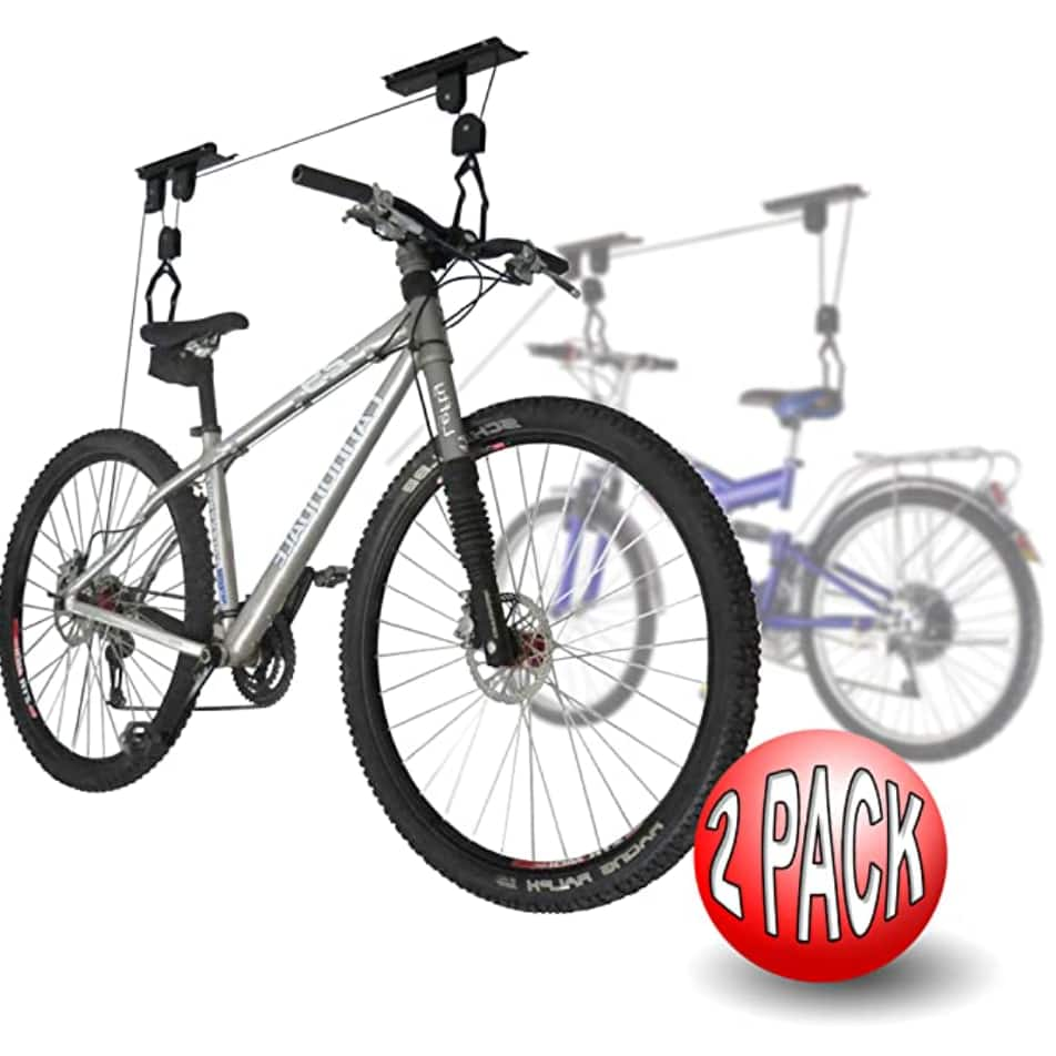 2-Pack RAD Cycle Products Bicycle Lift Hoist $23.80 + Free shipping via Prime