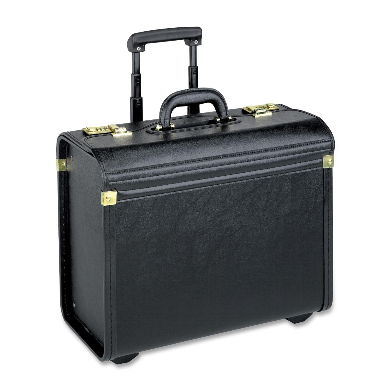 Solo Lincoln Rolling Brief Case with Dual Combination Locks (Black) $56.15 + Free shipping