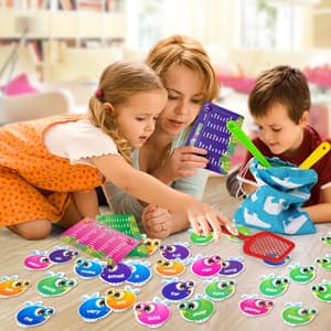 SpringFlower Sight Word Game Swat a Sight Word Educational Toy $11 + Free shipping via Prime or w/ $25 or more
