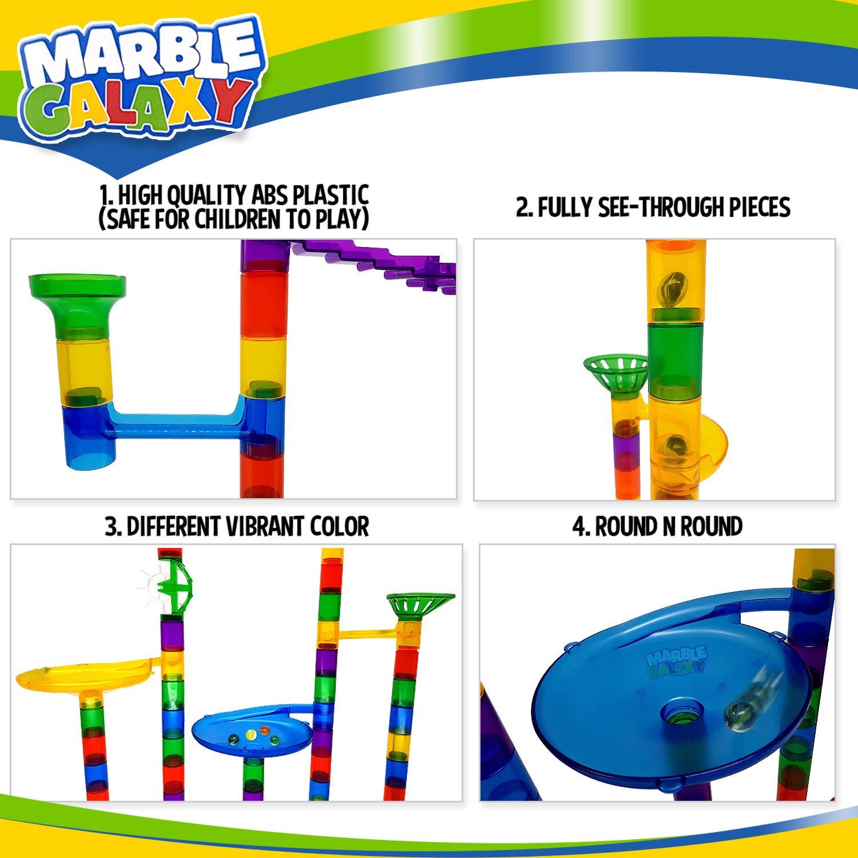Marble Run Marble Galaxy Fun Run Set Game $24.49 + Free shipping w/ Prime