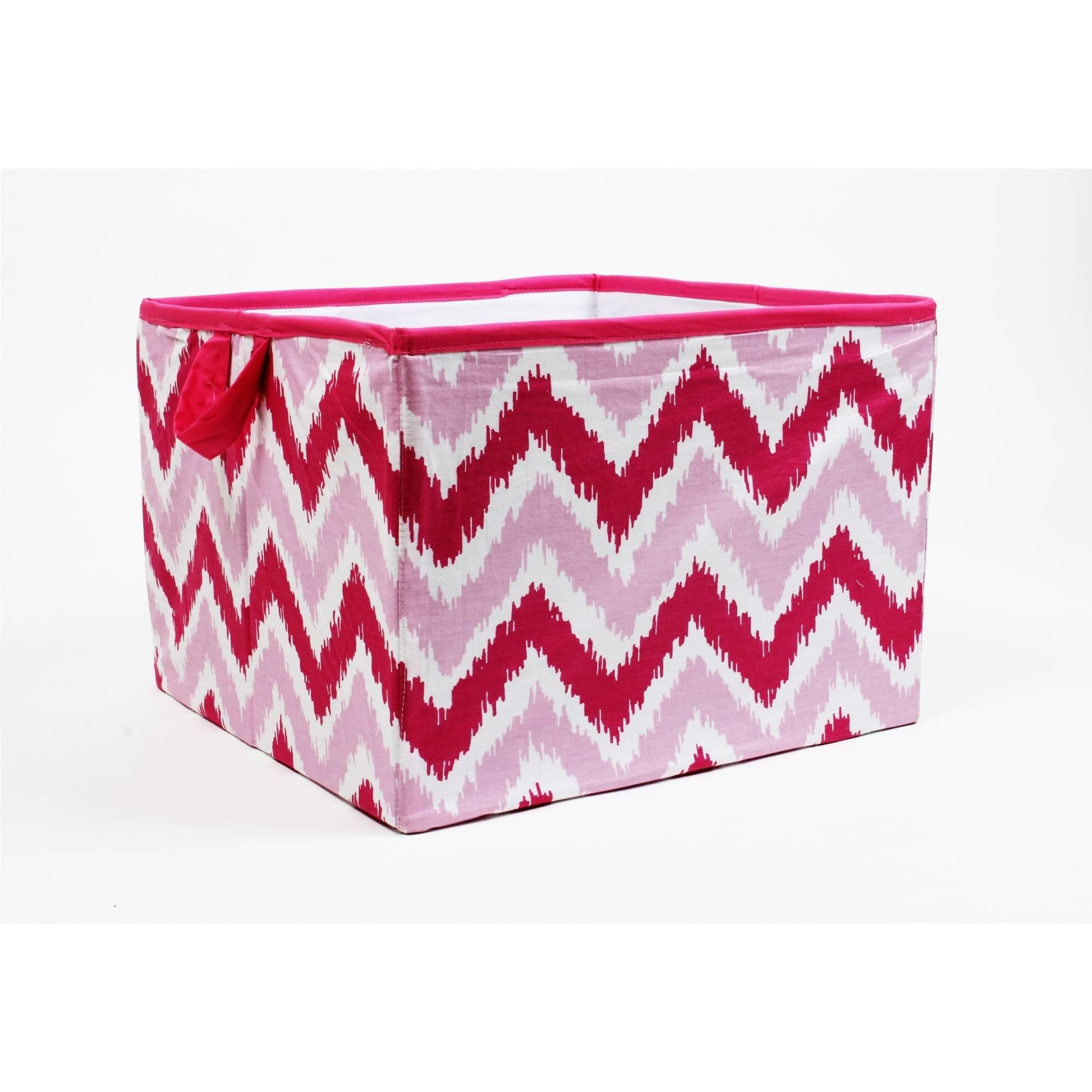 Urban Shop Colorblock Round Storage Basket (3 colors) $10, Urban Shop Sequin Storage Trunk $15 & More + Free ship w/ $35