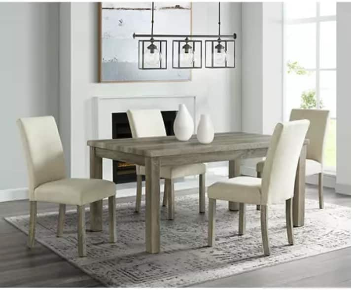 Sam's Club Members: Society Den Turner 5-Pc. Standard-Height Dining Set $449 + Free shipping