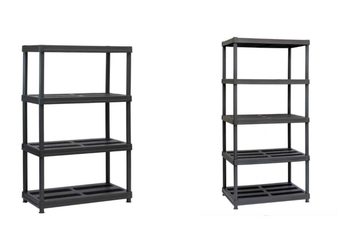 4-Shelf Juggernaut Storage $38.88 or 5-Shelf Juggernaut Storage $42.88 + Free shipping