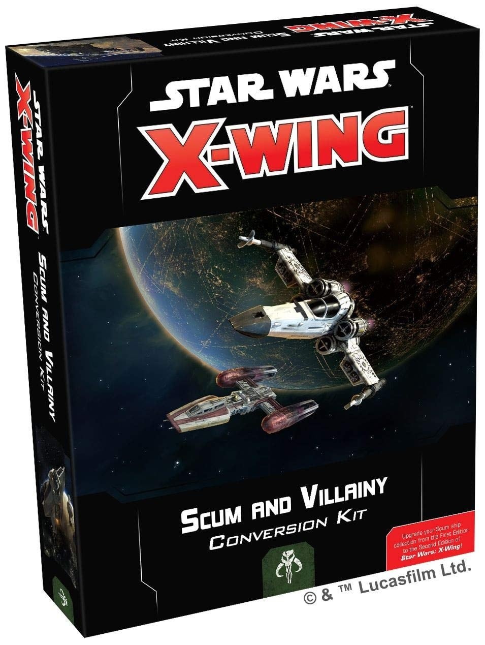 X-Wing Second Edition: Scum and Villainy Conversion $25 + Free shipping w/ Prime or $25