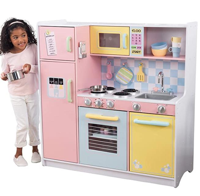 KidKraft Large Kitchen (Pastel) $138.76 + Free shipping