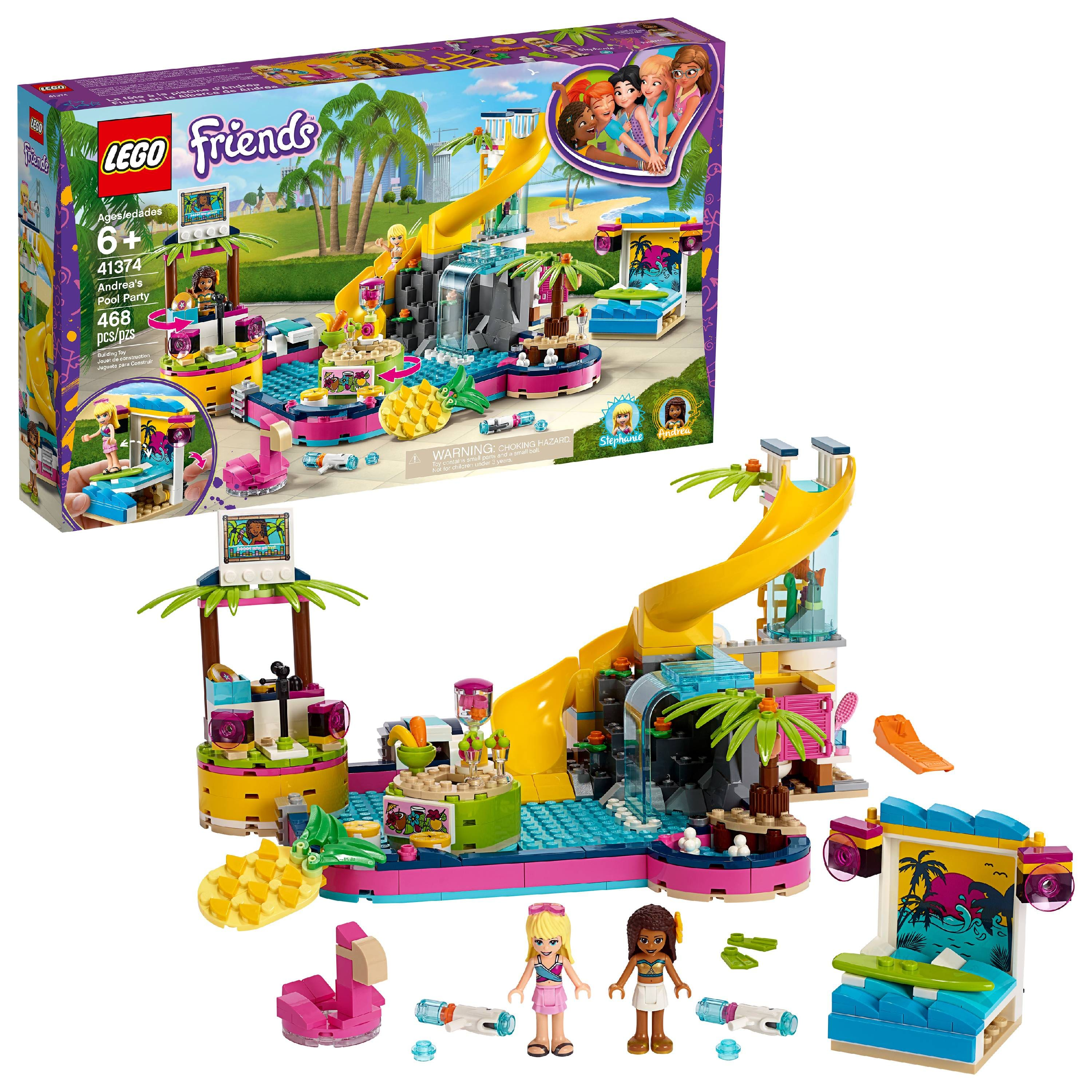 462-PC LEGO Friends Andrea's Pool Party 41374  Building Set $35 + Free store pickup