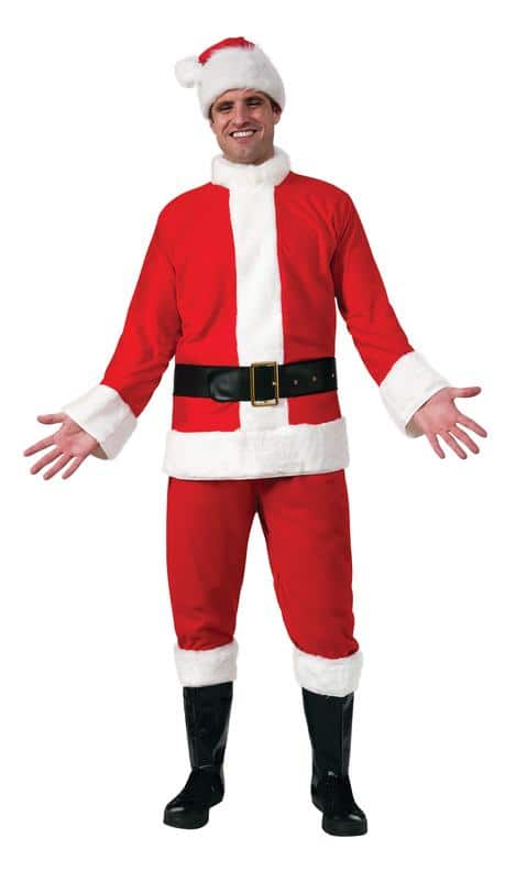 Rubie's Santa Suit Classic Adult Costume (Size 46 only) $17.10 + Free shipping w/ $35
