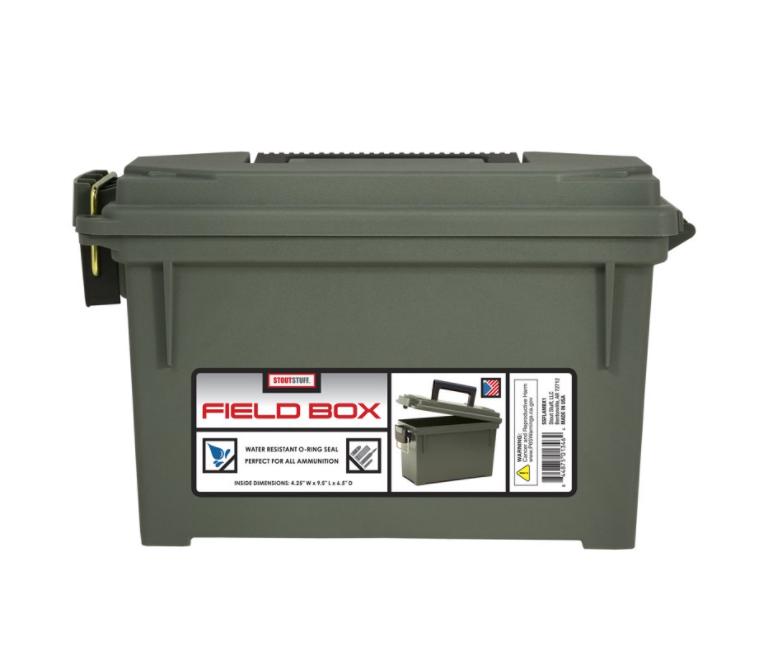 Stout Stuff Field Box $4.28 + Free store pickup at Walmart