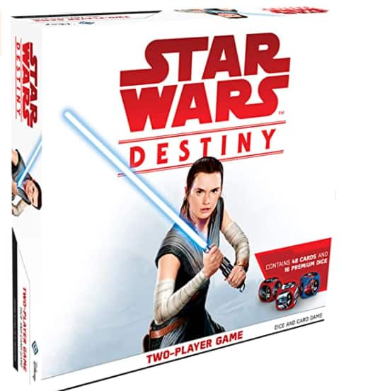 Star Wars Destiny: Two-Player Card & Dice Game $13.06 + Free shipping w/ Prime or $25+