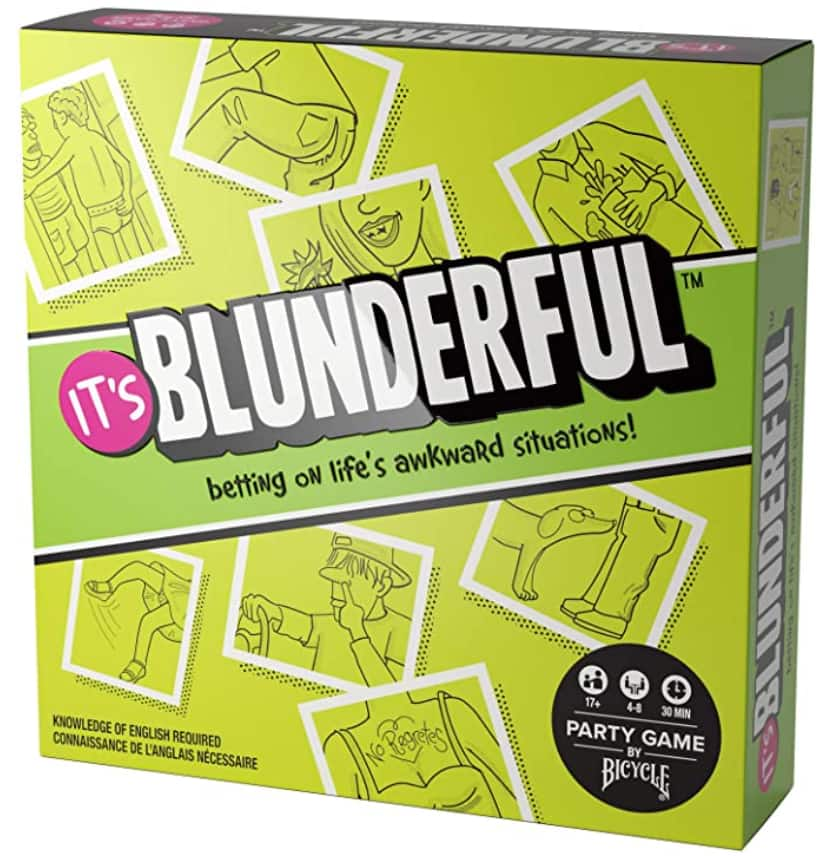 Bicycle It's Blunderful - Party Game Card Game $12.53 + Free shipping w/ Prime or $25+