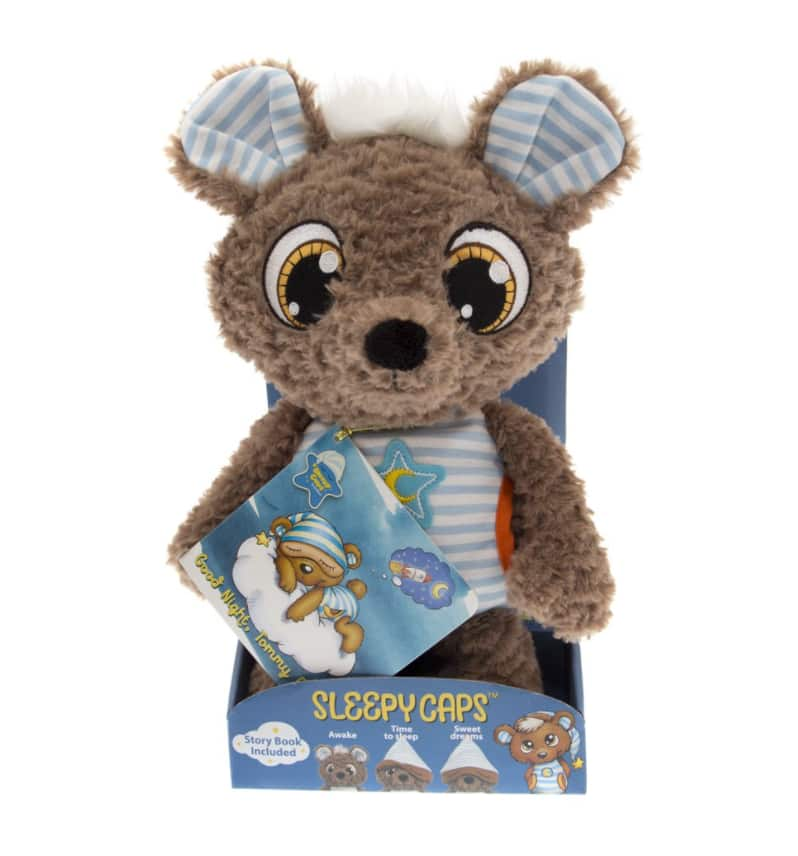 Large Sleepy Caps Cuddly Toy Tommy Bear $5.92 + Free store pick up at Walmart