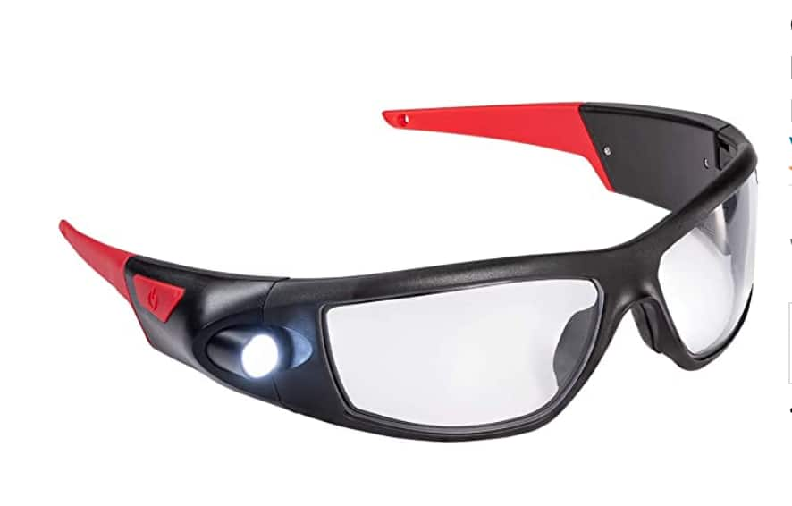 Coast SPG400 Rechargeable Lighted LED Safety Glasses with Built-In Inspection Beam $20 + Free shipping w/ Prime or $25+