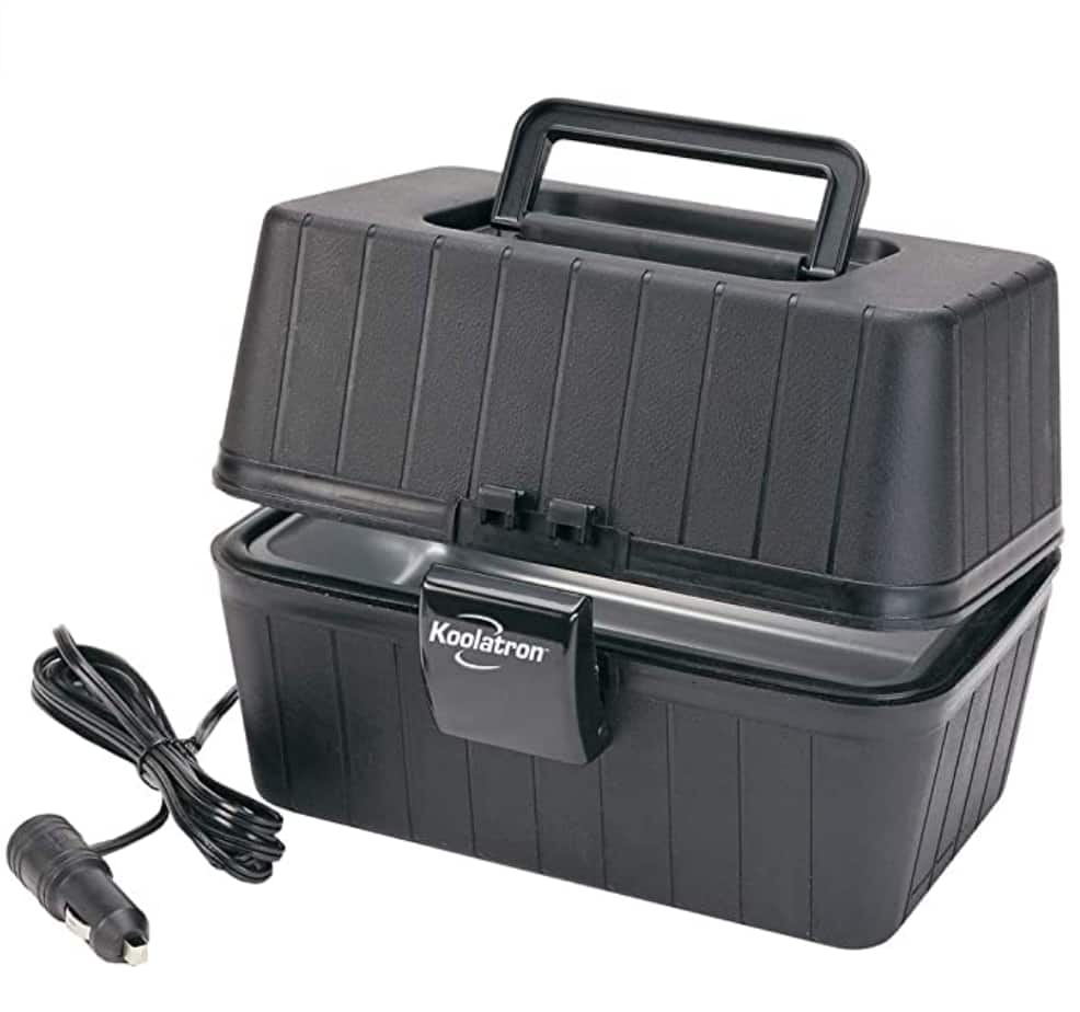 Koolatron LBS-01 Black 12 Volt Lunch Box Stove $34.95 + Free shipping