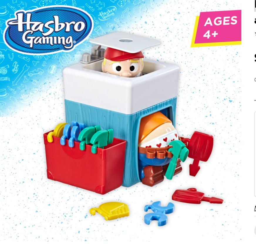 Prank the Plumber! Plumber Pants Preschool Game $6.70 + Free shipping w/ $35+