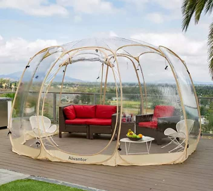 Sam's Club Members: 15' x 15' Alvantor Bubble Tent Pop Up Gazebo Camping Tent $690 + Free shipping