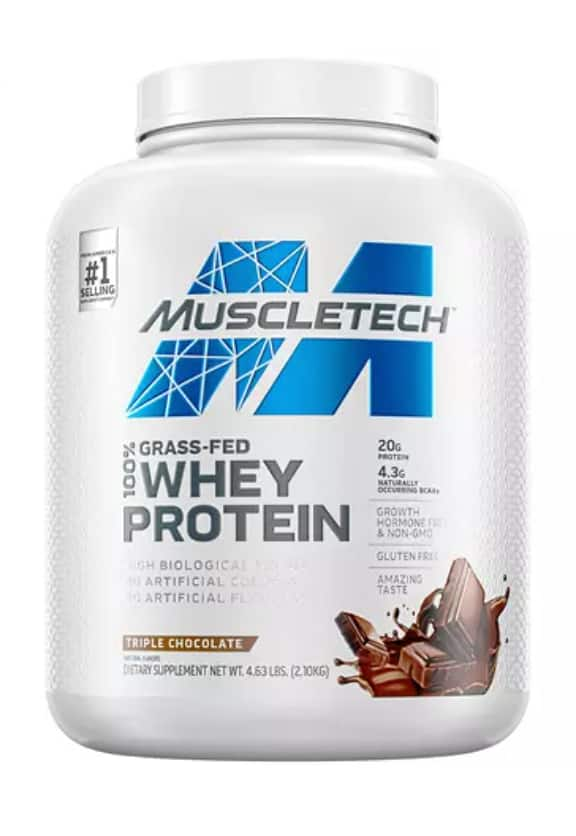 Sam's Club Members: 4.63 lbs MuscleTech Grass Fed 100% Whey Protein (2 flavors) $29.88 + Shipping