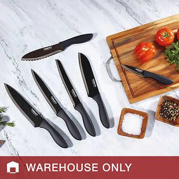 Cuisinart Classic Metallic Black Stainless 6-piece Knife Set $12.99 @ Costco B&M YMMV