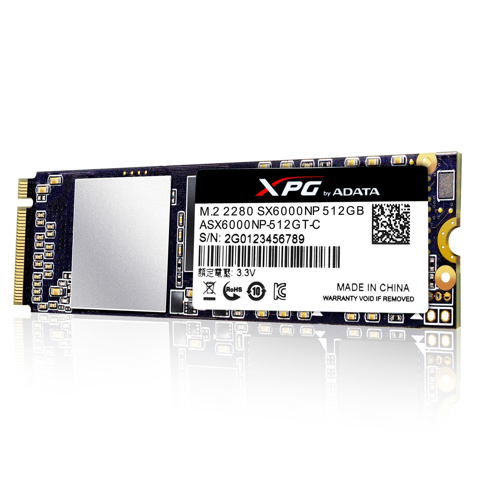 512GB ADATA XPG SX6000 M.2 PCIe NVME Solid State Drive $136