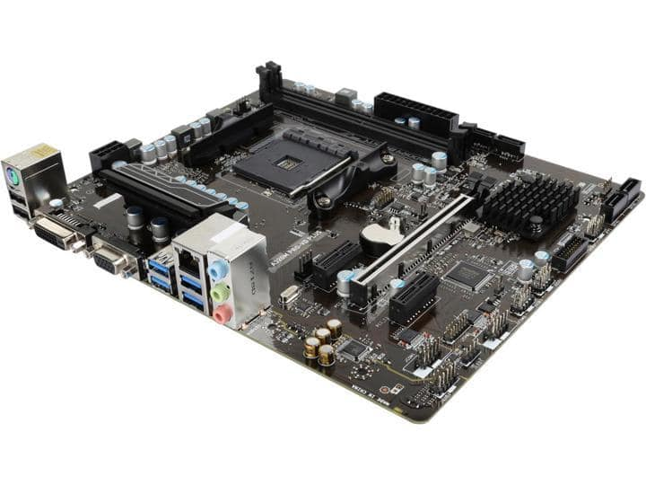 MSI A320M PRO-VD PLUS AM4 A320 Micro ATX AMD Motherboard $30 - AR