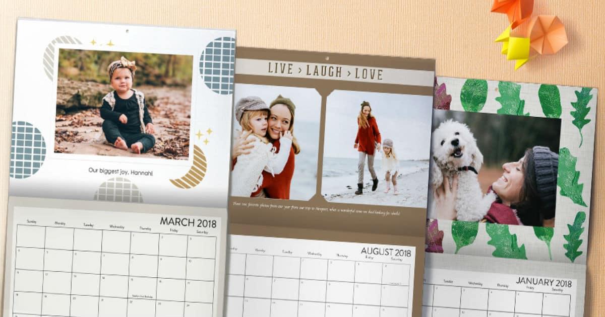 Verizon Up rewards Members : Free Shutterfly 8x11 Calendar