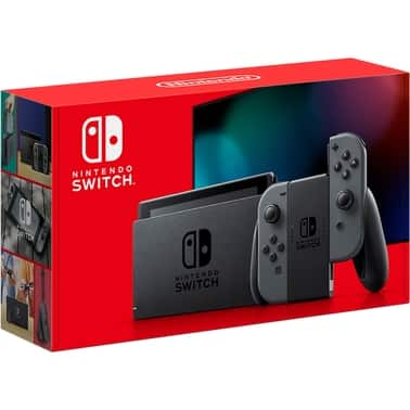 Nintendo Switch Console Gray $299.00 AAFES login required