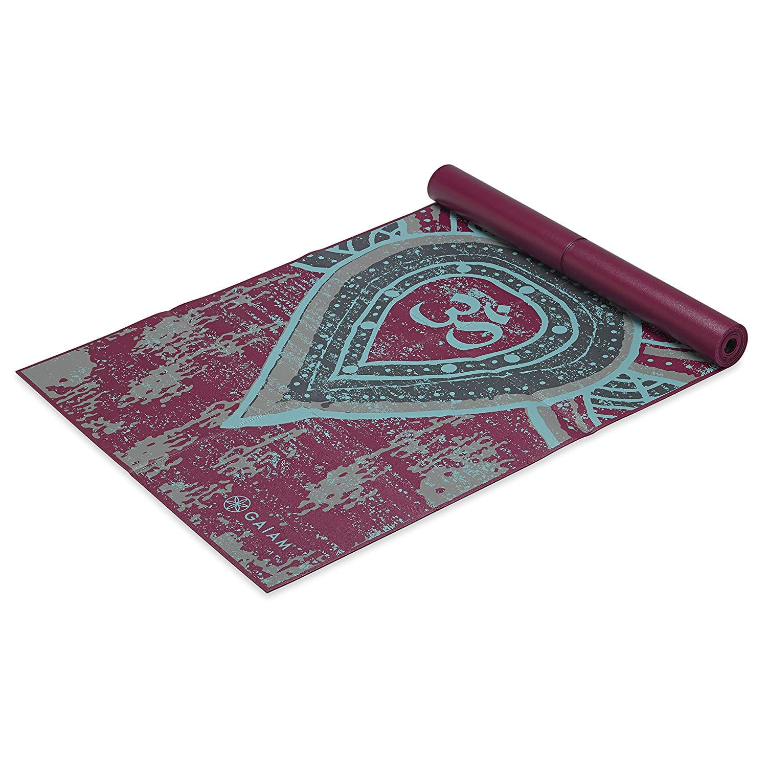 """Add-on Item: Gaiam Yoga Mat - Foldable 2mm Travel Exercise & Fitness Mat Built-in Carrying Handle (68"""" x 24"""" x 2mm Thick) - $9.59"""