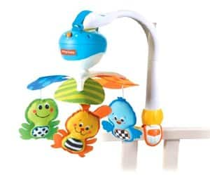 Hot! Tiny Love Take Along Mobile, Animal Friends for $13.60 from Amazon