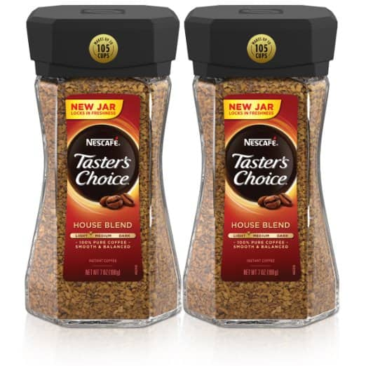 Taster's Choice Instant Coffee, $10.86 at Amazon w/ S&S