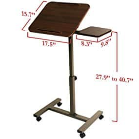 Sit-Stand Portable Desk with Side Table, $28 (was $47) + FS w/ Prime