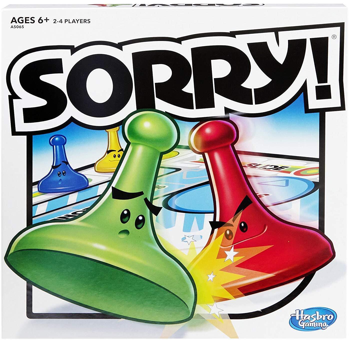 Sorry Board Game $6.66, FS w/ Prime