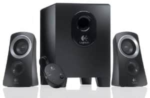 Logitech Z313 25W 2.1 speaker system - Refurbished - $17.99 w FS - Newegg via eBay