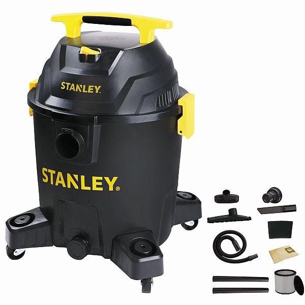 (YMMV) Stanley 10 Gallon, 6.0 Peak Horse Power Wet/Dry Poly Vacuum
