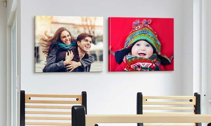 """$37 for two 16""""x20"""" Custom Premium Canvas Wraps from Canvas on Demand with Free Shipping (or one for $22) at Groupon"""