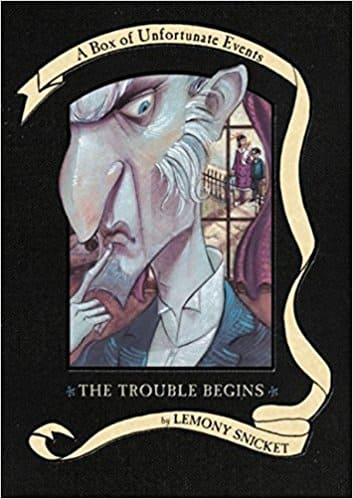 Boxed Set Kids Books Deals: The Trouble Begins: A Box of Unfortunate Events, Books 1-3 (The Bad Beginning; The Reptile Room; The Wide Window)