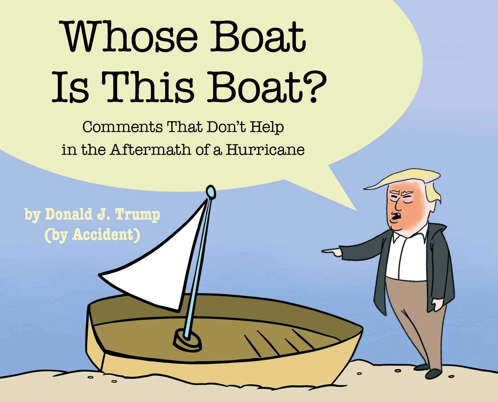 Whose Boat Is This Boat?: Comments That Don't Help in the Aftermath of a Hurricane (Hardcover) $6.66