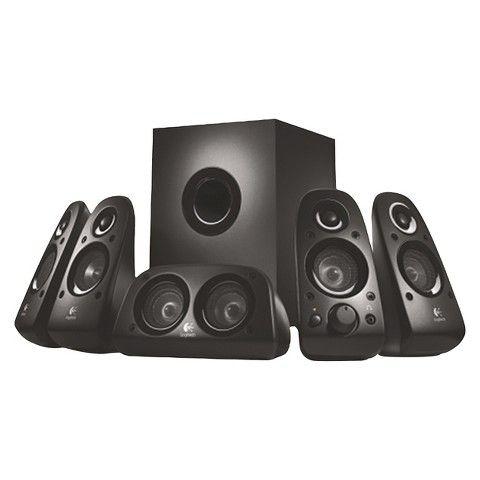 Logitech Z506 Computer Speaker System - Black $23.98 Target YMMV