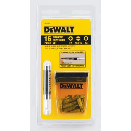 Dewalt 16 Piece Drive Guide Set (DW2053), $2.99 @Ace Hardware