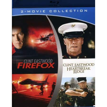 Heartbreak Ridge / Firefox (Blu-ray) $7.88 @Walmart