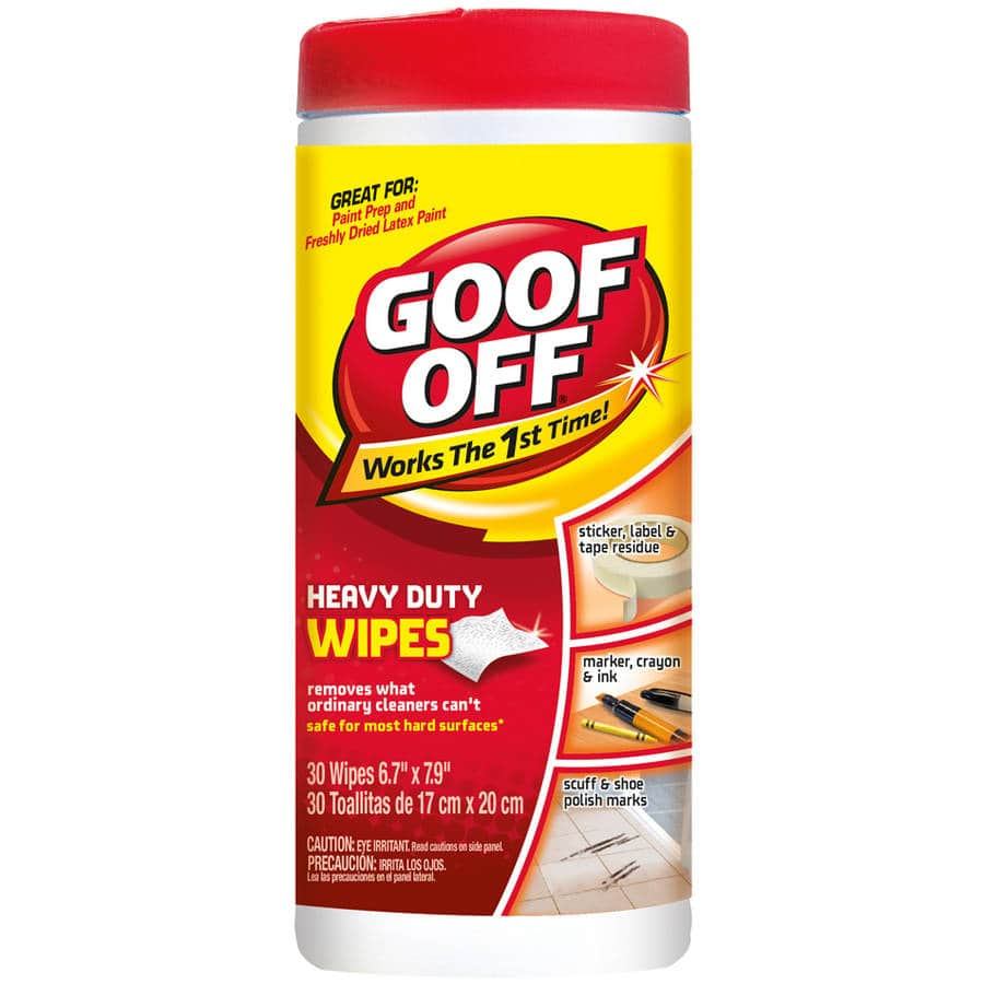 Goof Off Heavy Duty Wipes $1.50 @Walmart YMMV