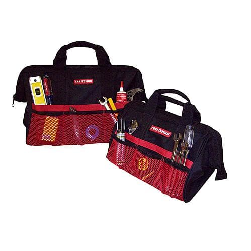 "Craftsman 13"" & 18"" Tool Bag Combo $9.99 @Sears, Kmart"
