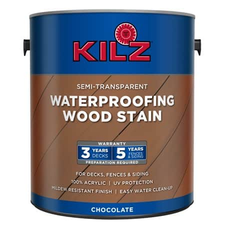 KILZ Semi-Transparent Waterproofing Wood Stain (1 gallon) $7 @Walmart YMMV