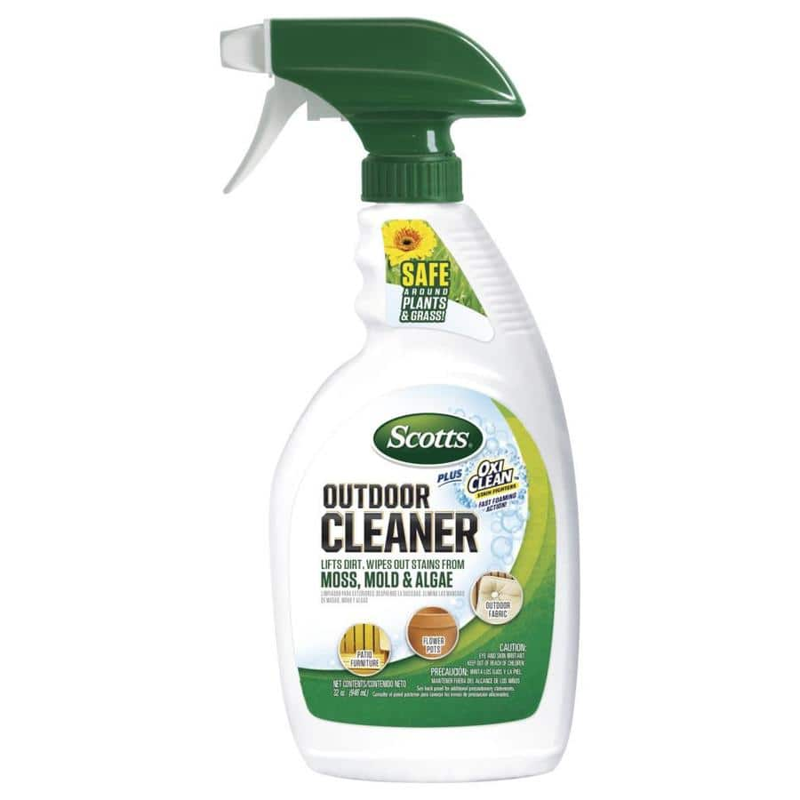 Scotts Outdoor Cleaner Plus Oxi Clean & Scott's Outdoor Cleaner Wipes $1.75 ea. @Lowe's YMMV