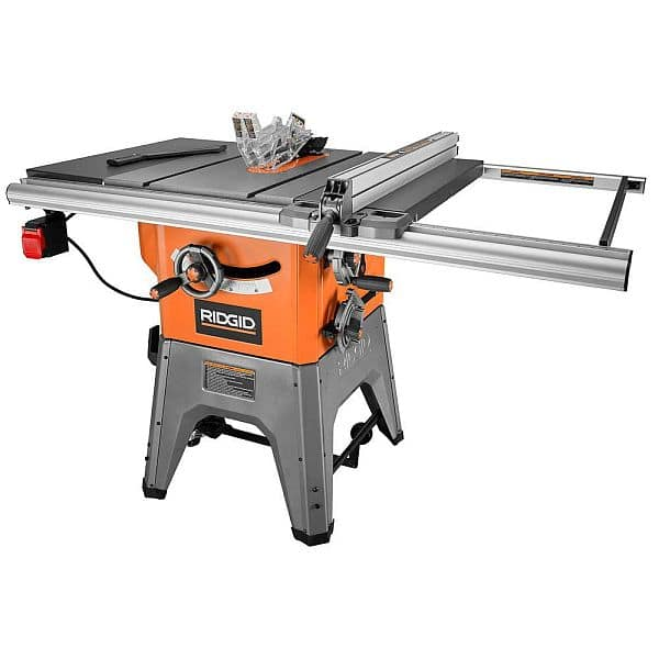 Ridgid 13 Amp 10 in. Professional Cast Iron Table Saw $440 in store YMMV