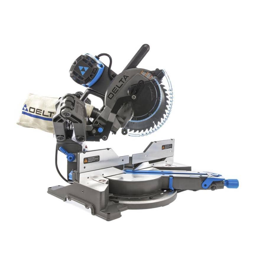 $309 DELTA Cruzer 10-in 15-Amp Dual Bevel Sliding Compound Miter Saw (Reg $599)