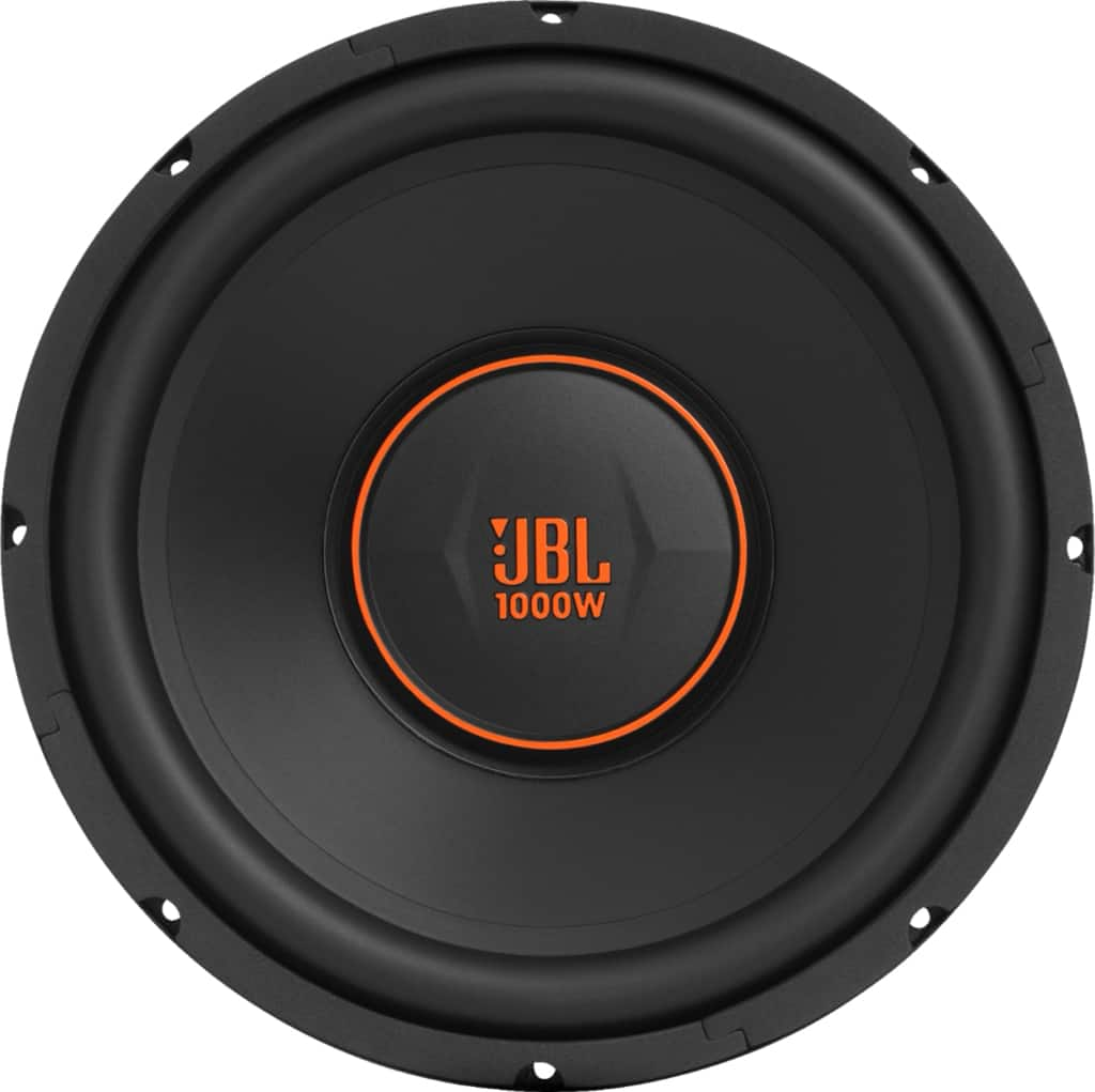 "JBL GX Series 12"" Single-Voice-Coil 4-Ohm Subwoofer"