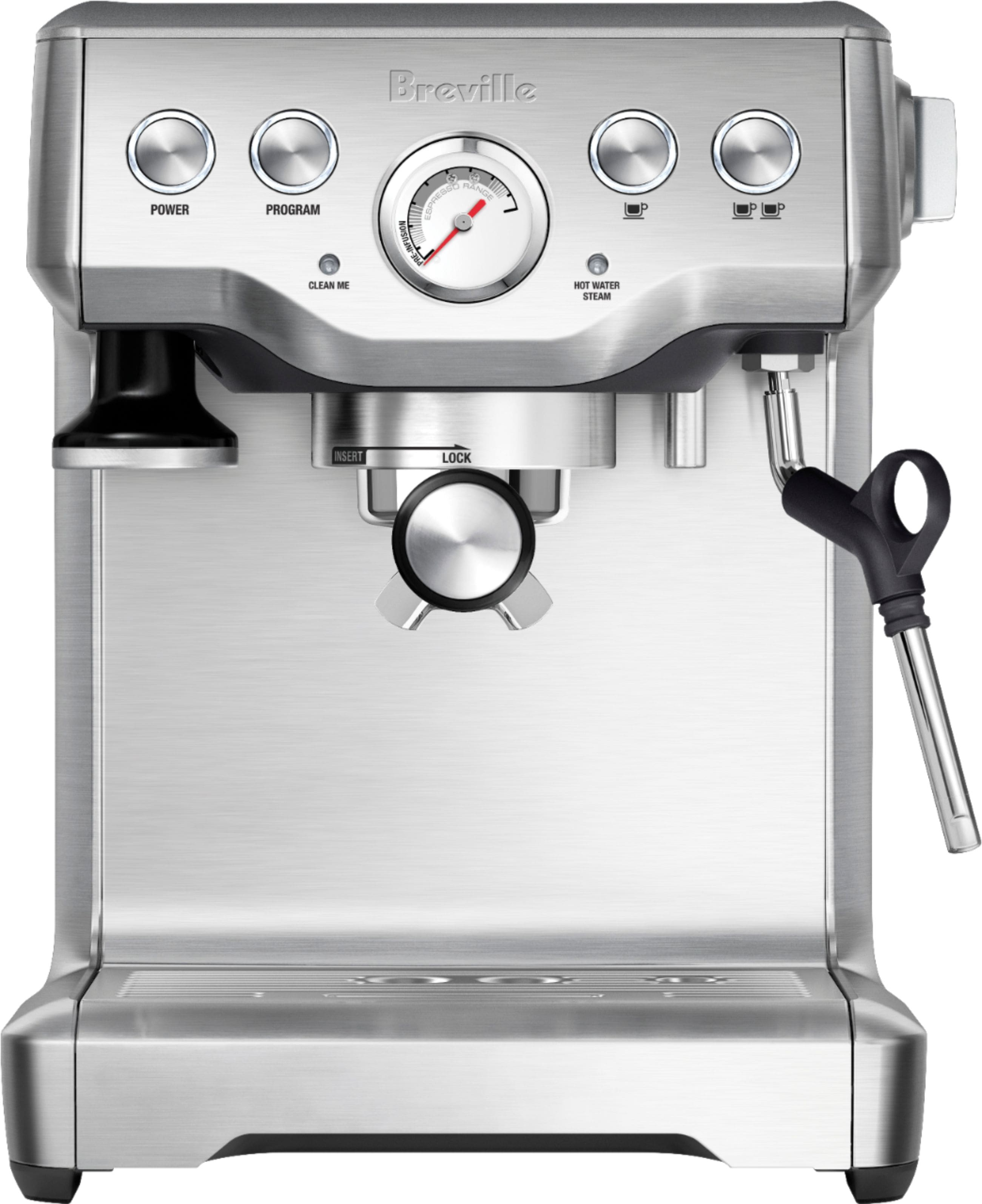 Breville BES840XL - the Infuser Manual Espresso Machine  - Stainless Steel $399; Breville BES880BSS $796.76; @ Best Buy + Free Shipping $399.99