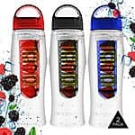 2-Pack PomStream NonSlip Infuser Water Bottle $13.98 at Checkout @Tanga.com