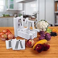 Amazon Deal: PomStreamTM Ultimate Tri-Blade Vegetable and Fruit Peeler Spiral Cutter For $15.95 @ Amazon + FSSS