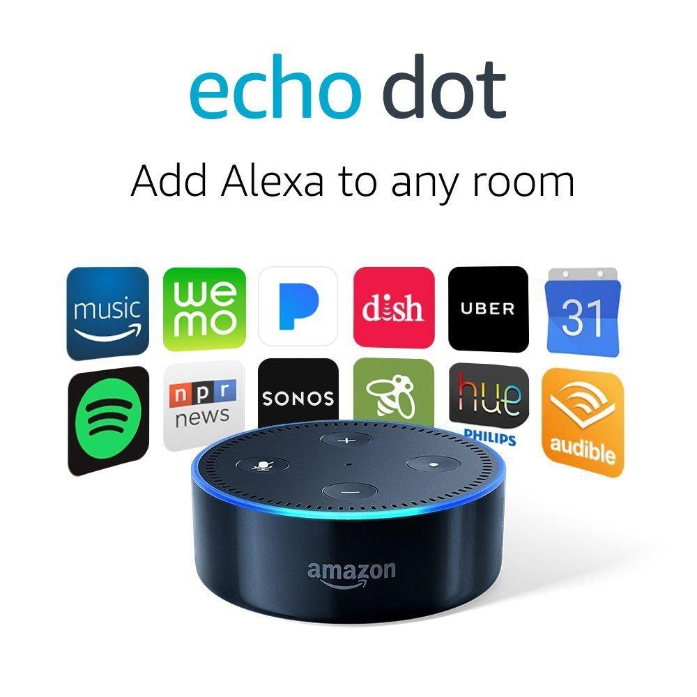 2 Pack Amazon Echo Dot for $49.98 - YMMV